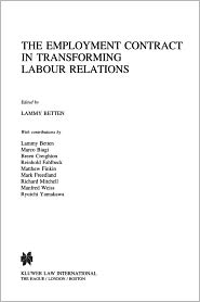 The Employment Contract In Transforming Labour Relations - Lammy Betten