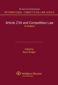 Article 234 and Competition Law. An Analysis - Rodger
