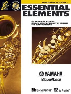 Essential Elements, für Altsaxophon in Es, m. Audio-CD
