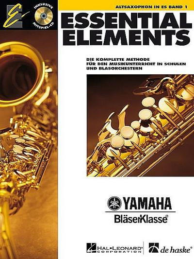 Essential Elements 01 für Altsaxophon
