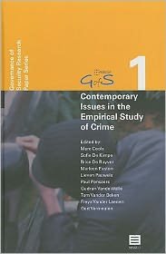 European Perspectives on Criminology and Criminal Justice - B. De Ruyver (Editor), M. Easton (Editor), Tom Vander Beken (Editor), Gert Vermeulen (Editor), Marleen Easton (Editor), Paul Pon