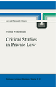 Critical Studies in Private Law - Thomas Wilhelmsson