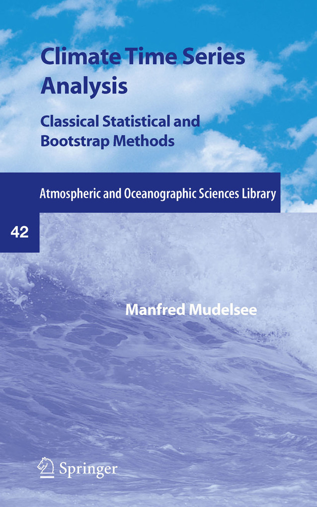 Climate Time Series Analysis als eBook von Manfred Mudelsee - Springer Netherlands