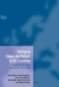 Changing Values and Beliefs in 85 Countries: Trends from the Values Surveys from 1981 to 2004 - Halman, Loek Inglehart, Ronald Diez-Medrano, Jaime