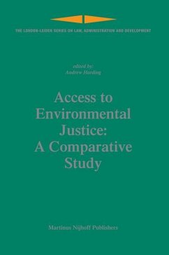 Access to Environmental Justice: A Comparative Study - Harding, Andrew (ed.)
