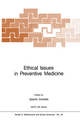 Ethical Issues in Preventive Medicine - Spyros Doxiadis