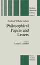 Philosophical Papers and Letters - G. W. Leibniz; L.E. Loemker