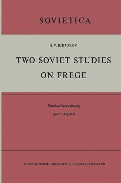 Two Soviet Studies on Frege - Birjukov, B. V.