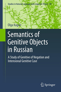 Kagan, Olga: Semantics of Genitive Objects in Russian