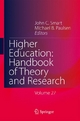 Higher Education: Handbook of Theory and Research - John C. Smart; Michael B. Paulsen