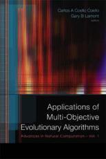 Applications of Multi-Objective Evolutionary Algorithms - Carlos A. Coello Coello, Gary B. Lamont