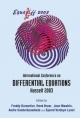 Equadiff 2003 - Proceedings Of The International Conference On Differential Equations - Freddy Dumortier; Henk Broer; Jean L. Mawhin