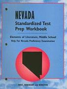 Nevada Elements of Literature, Standardized Test Prep Workbook Middle School: Help for Nevada Proficiency Examination
