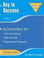 Key to Success, Level 2: A Curriculum for Summer School, After School, Exploration Programs