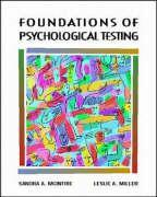 Foundations of Psychological Testing - McIntire, Sandra A.; Miller, Leslie