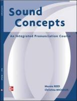 Sound Concepts Teacher's Manual - Reed, Marnie