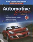Glencoe Automotive Excellence, Volume 1: Technical Applications