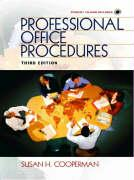 Professional Office Procedures [With Disk] - Cooperman, Susan H.