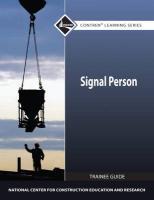 Signal Person Trainee Guide