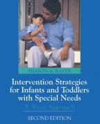 Intervention Strategies for Infants and Preschoolers with Special Needs: A Team Approach - Raver, Sharon A.; Raver-Lampman, Sharon