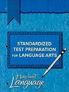Standardized Test Preparation for Language Arts, Grade 2