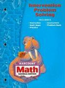 Harcourt Math Georgia Edition Intervention Problem Solving: Grade 3