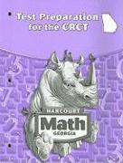 Harcourt Math Test Preparation for the Georgia CRCT, Grade 4