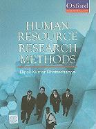Human Resource Research Methods - Bharracharyya, Dipak Kumar; Bhattacharyya, Dipak Kumar