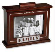 Family Photo Box Frame - Zondervan Publishing