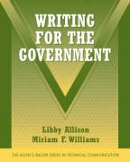 Writing for the Government - Allison, Libby; Williams, Miriam F.