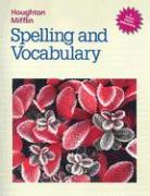 HM Spelling and Vocabulary LV 6 - Henderson, Edmund H.; Templeton, Shane