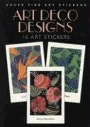 Art Deco Designs: 16 Art Stickers