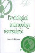 Psychological Anthropology Recon - Ingham, John M.