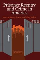 Prisoner Reentry and Crime in America