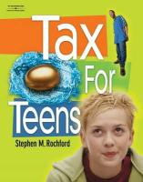 Tax for Teens - Rochford, Stephen