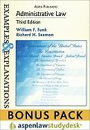 Examples & Explanations: Administrative Law, 3rd Ed. (Print + eBook Bonus Pack) - Funk, William F.