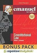 Emanuel Law Outlines: Constitutional Law (Print + eBook Bonus Pack) - Emanuel, Steven