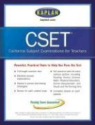 Kaplan Cset: The California Subject Examination for Teachers - Kaplan