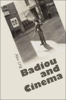 Badiou and Cinema - Ling, Alex