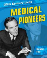 Medical Pioneers - Foy, Debbie