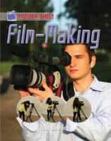 Film Making - Downing, Todd