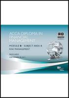 Dipfm - Risk Management: Passcards - BPP Learning Media