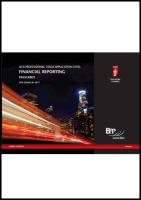 Icaew - Application Level FM Passcards - BPP Learning Media