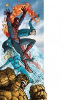 Spider-Man / Fantastic Four