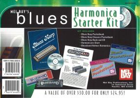 Blues Harmonica Starter Kit [With CD and Harmonicare Chart and Harmonica] - Duncan, Phil