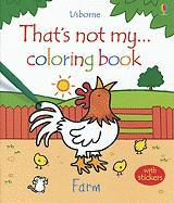 That's Not My Farm Coloring Book