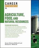 Career Opportunities in Agriculture, Food, and Natural Resources - Echaore-McDavid, Susan; McDavid, Richard A.