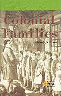 Colonial Families - Williams, Zachary