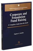 Corporate & Foundation Fund Raising - Scanlan, Eugene A.; Scanlan