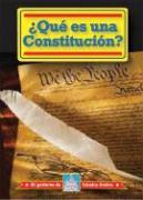 Que Es una Constitucion? = What Is a Constitution? - Thomas, William David